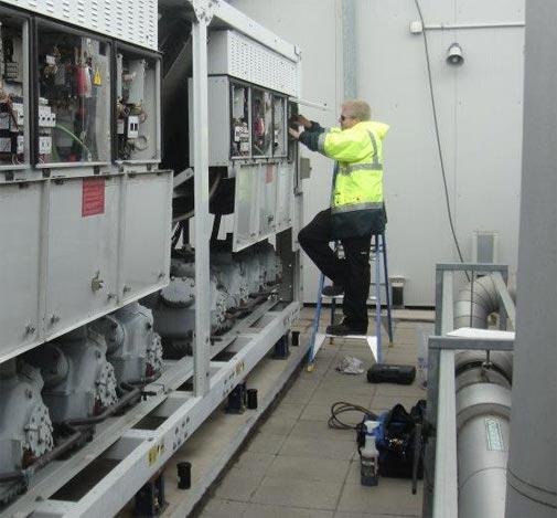 Repairing and maintenance work